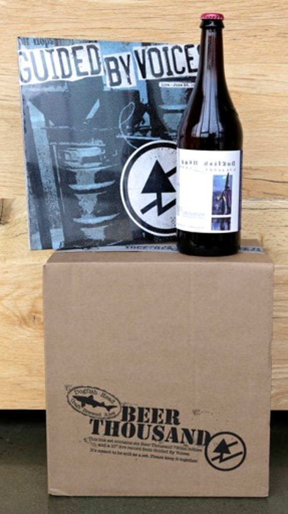 The limited edition Beer Thousand box set from Dogfish