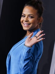 Christina Milian, seen arriving at the world premiere