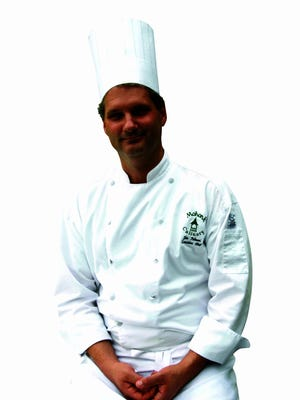 Mohonk Mountain House's Executive Chef Jim Palmeri for guest column in Living & Being.
