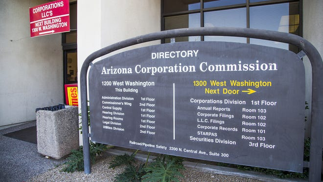 The five Arizona Corporation Commission members set rates and policies for electric, water and gas utilities and have oversight of other matters. Three of the five seats will be decided in the November election.