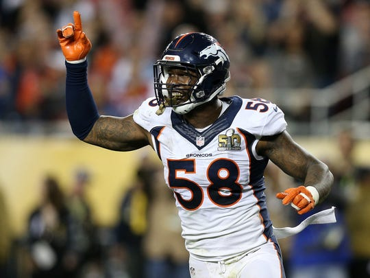 The Broncos have Von Miller re-signed heading into camp.