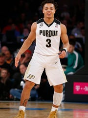 Mar 2, 2018; New York, NY, USA; Purdue Boilermakers