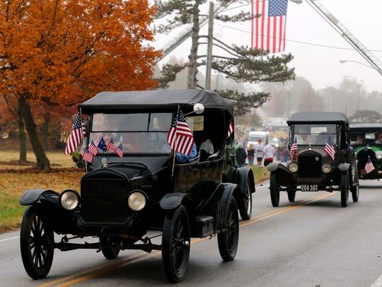 The first Western Greene County Veterans Day Parade