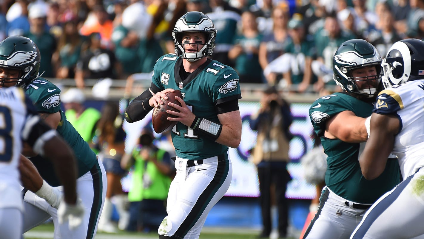 Eagles show perseverance by forging ahead after Carson Wentz's injury