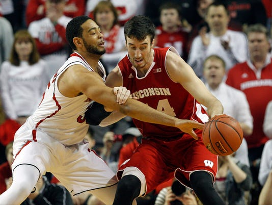 USP NCAA BASKETBALL: WISCONSIN AT NEBRASKA S BKC USA NE