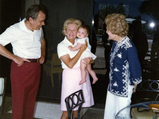 President Richard Nixon's trip to Sunnylands in 1979
