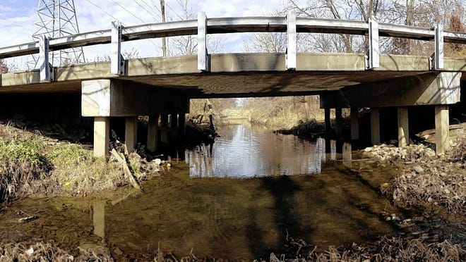 The East Dublin-Granville Road bridge spanning the Rocky Fork Creek in New Albany will be replaced starting in mid-July, with construction expected to be finished by mid-November.