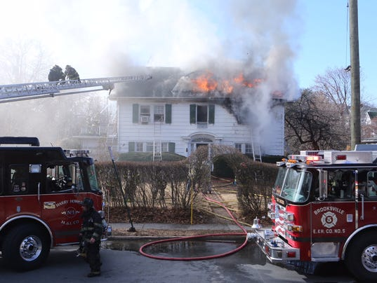 Port Chester fire King Street