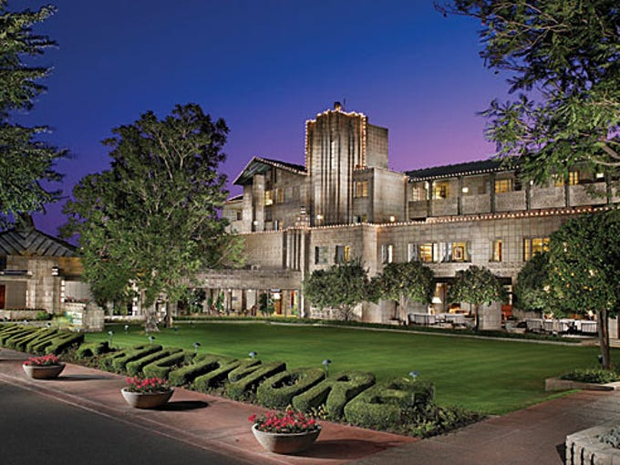4. Arizona Biltmore: Frank Lloyd Wright was the consulting