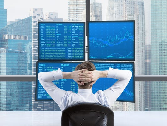 relaxing trader