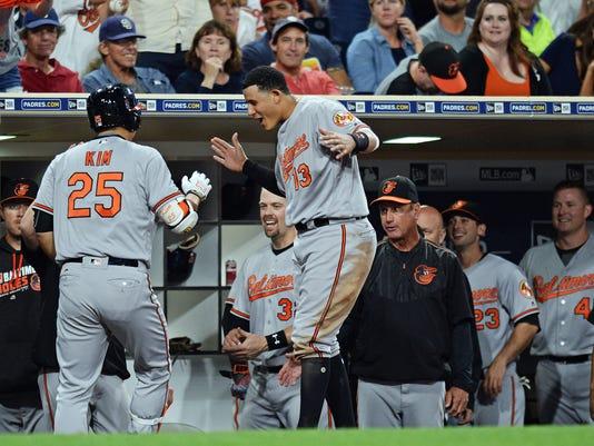 MLB: Baltimore Orioles at San Diego Padres