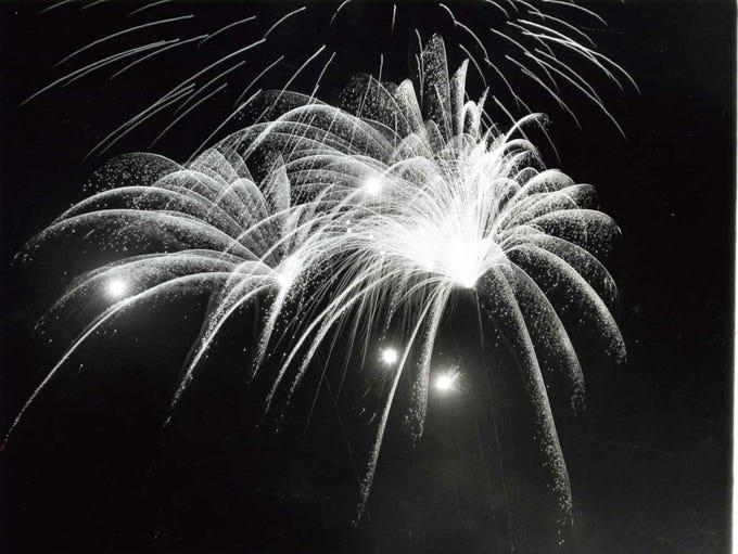 July 5, 1971: Teaneck fireworks.