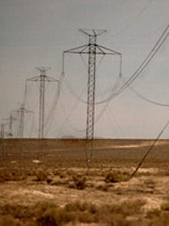 FILE PHOTO: Power lines