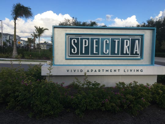 Spectra is on U.S. 41, south of Alico Road, in Lee