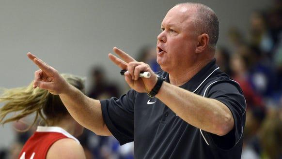 Terry Gossett has coached the Erwin girls basketball
