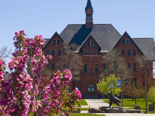 MSU campus for online