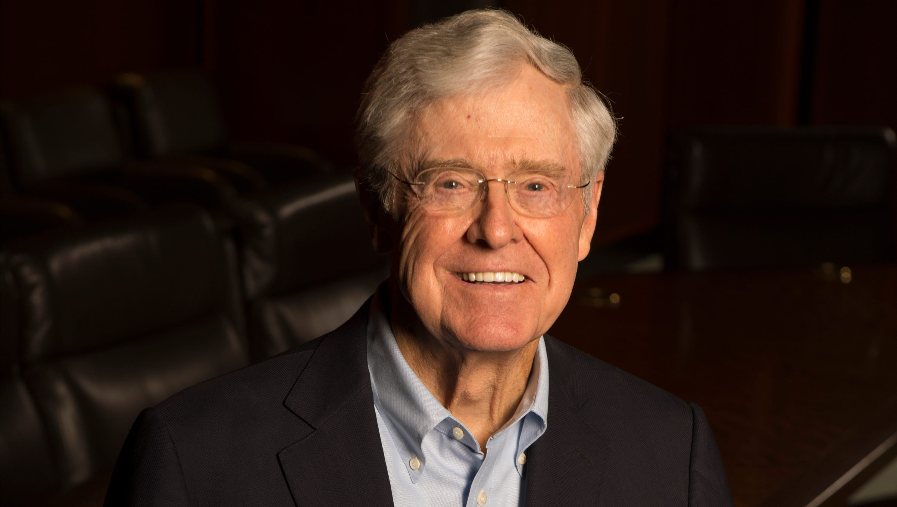 Charles Koch earned a  million dollar salary, leaving the net worth at 50000 million in 2017