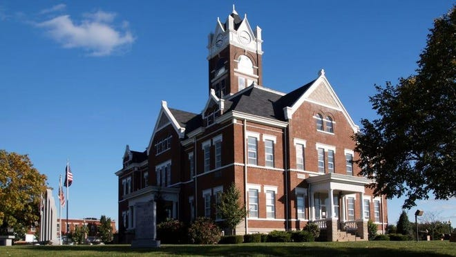 Perry County Courthouse.