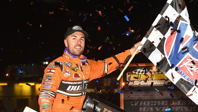 David Gravel of Watertown, CT is a frequent visitor to victory lane in just about any type of racing machine