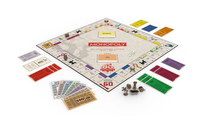 Asheville has been voted one of the 20 cities that will appear on the Monopoly game board.