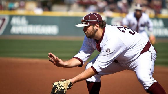 Mississippi State first baseman Wes Rea