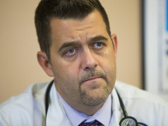 Dr. Darren Deering, medical center chief of staff at