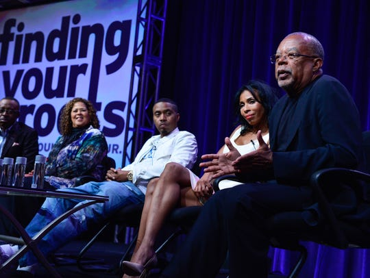 Henry Louis Gates Jr. discuss uncovering family histories