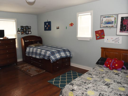 A view of a bedroom in one of the residences at the Anderson Center for Autism in Staatsburg.