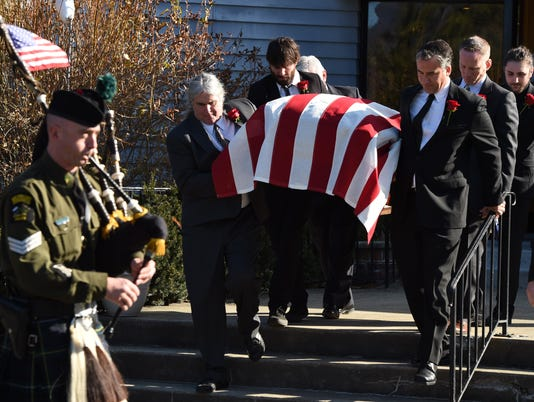 Maurice Hinchey funeral