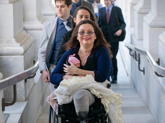 AP SENATE BABIES A USA DC