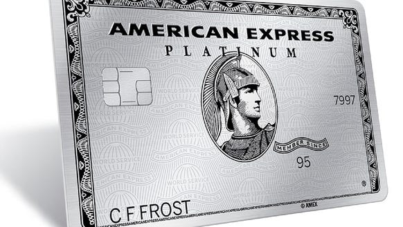 This image provided by American Express shows the company's