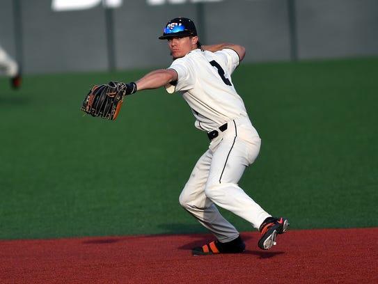OSU shortstop Cadyn Grenier was the No. 37 overall