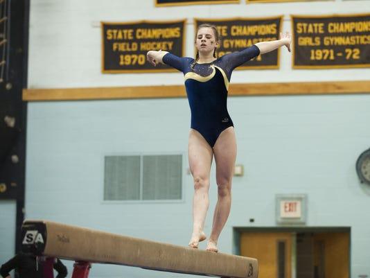 High School Gymnastics Championship 02/20/16