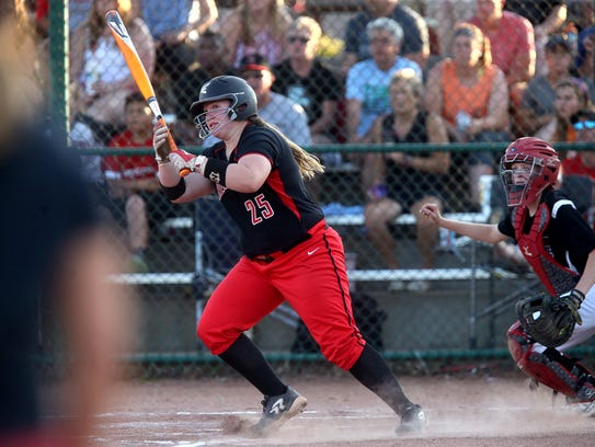 Stewarts Creek's  Loryn Sherwood hit .449 with 22 home