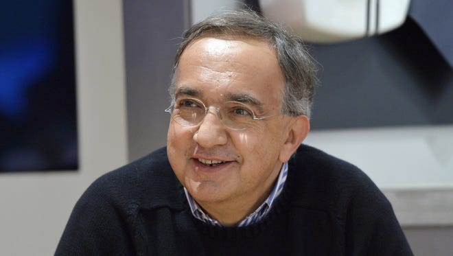 Par7991087.jpg Fiat-Chrysler chief executive officer and Ferrari's next president Sergio Marchionne attends a press conference at the Paris Auto Show in Paris on October 2, 2014 on the first of the two press days. AFP PHOTO / MIGUEL MEDINAMIGUEL MEDINA/AFP/Getty Images