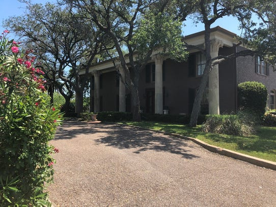 Blake Farenthold's home just of Corpus Christi Bay