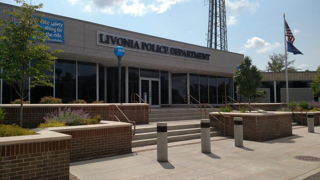 The Livonia police station