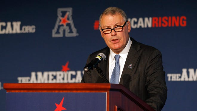 American Athletic Conference Commissioner Mike Aresco.