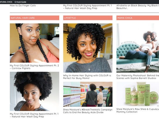 This is a frame grab from the website NaturalChica.com.