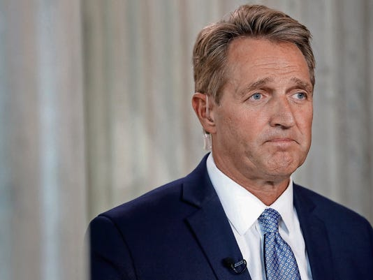 Se. Jeff Flake (R-AZ) Announces He Will Not Seek Re-Election And Rebukes President Trump In Senate Chamber Speech