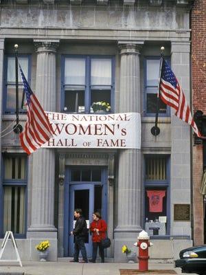 Exterior of Women's Hall of Fame, Seneca Falls.