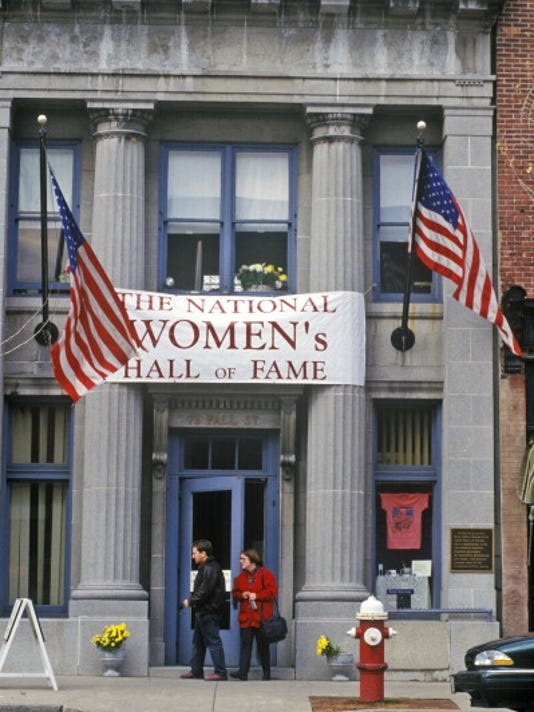 Exterior of Women's Hall of Fame, Seneca Falls, NY
