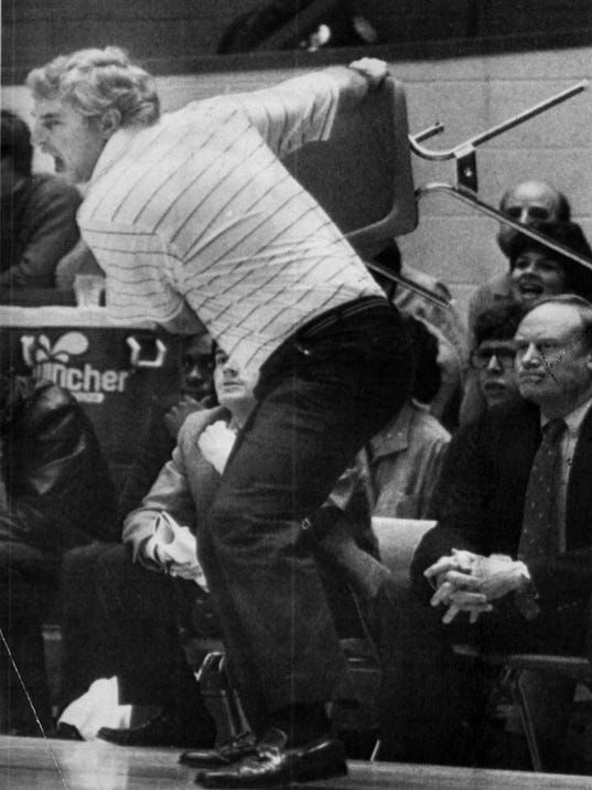 Doyel Quest For A Legendary Relic Bob Knight S Chair