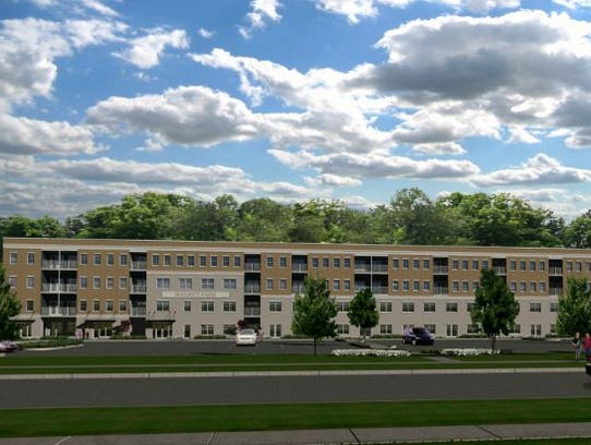 A housing development called Walnut Park will have