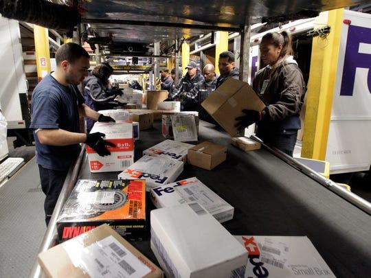 File: Fed Ex distribution center.