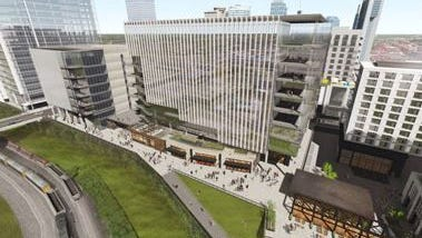 Nashville Yards is the future home of Amazon's operations center. When complete, the $1 billion Nashville Yards project will stretch between two of the most prominent downtown streets and encompass 4 million square feet of surface space including vertical stories.