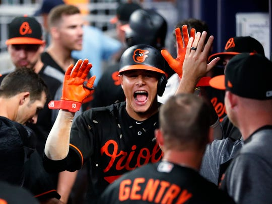 Baltimore Orioles shortstop Manny Machado could be