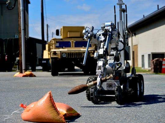 Explosive Ordnance Disposal Robot
