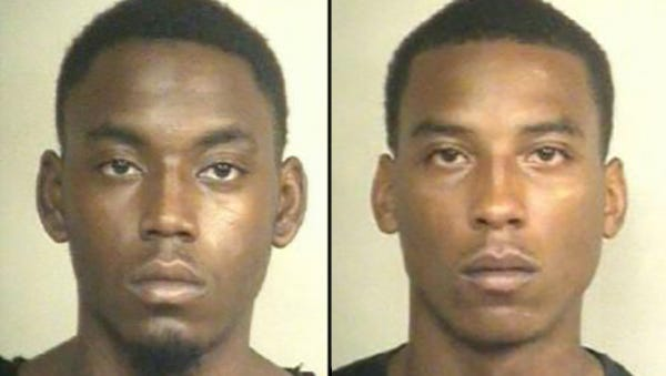 Arkel Coleman (left) and Shrederrick Anderson