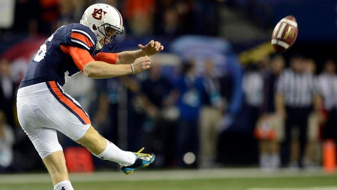 Auburn kicker Cody Parkey has agreed to sign with the Indianapolis Colts.